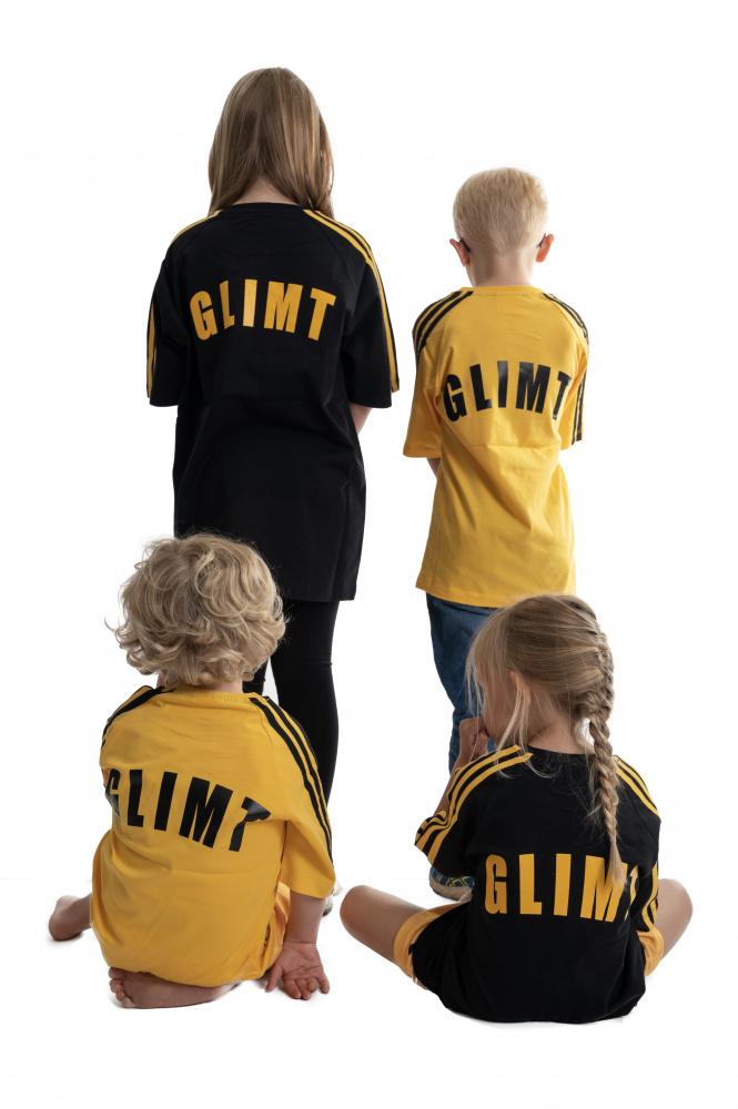 Glimt t skjorte svart barn